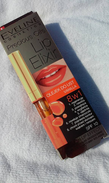 Olejek do ust Lip elixir Vanilla