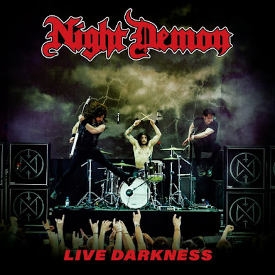 "Το τραγούδι των Night Demon ""Dawn Rider"" από το album ""Live Darkness"""