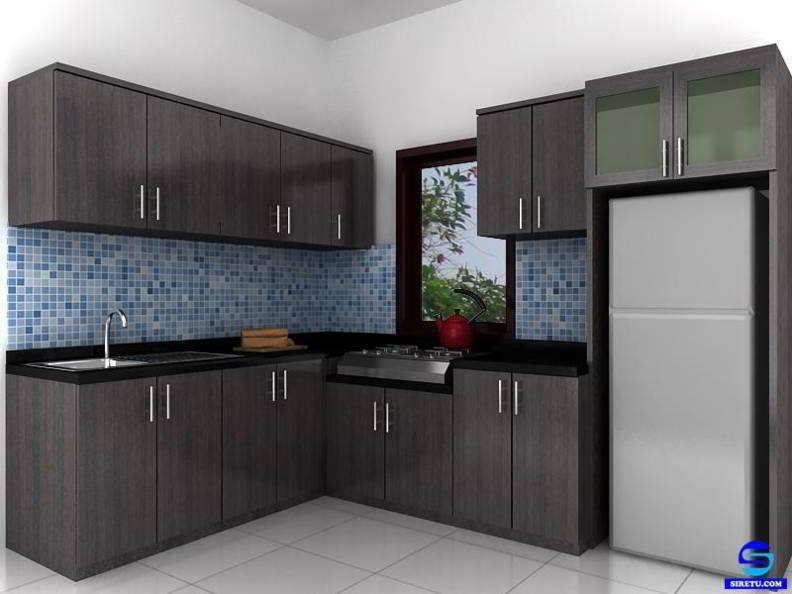 ツ 20 Desain Harga Kitchen Set Minimalis Modern Murah Dan