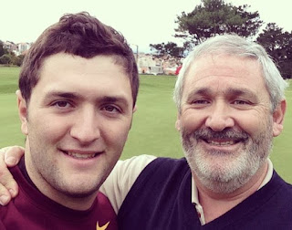 Jon Rahm And His Father