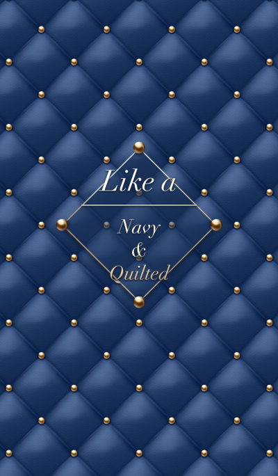 Like a - Navy & Quilted #Lights