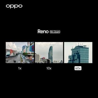 OPPO ส่งมอบประสบการณ์สุดพรีเมี่ยม ด้วยสมาร์ทโฟนไฮเอนด์รุ่นล่าสุด OPPO Reno 10x Zoom เหนือกว่าด้วยที่สุดของกล้องถ่ายภาพ ให้ทุกความคิดสร้างสรรค์เป็นไปได้อย่างไร้ขีดจำกัด