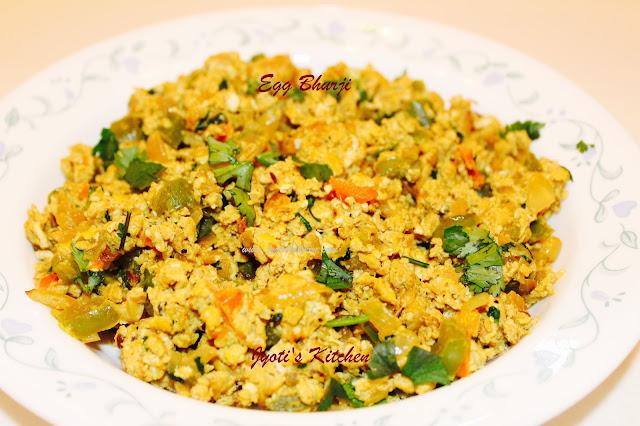 Egg Bhurji Indian Scrambled Egg Recipe