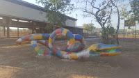 Rainbow Serpent Sculpture   Wyndham Public Art