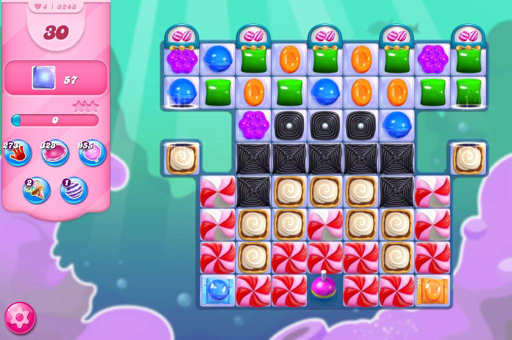 Candy Crush Saga level 8248