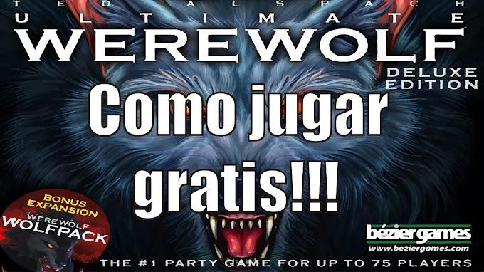 Como jugar Werewolf el juego de mesa gratis