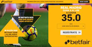 betfair supercuota Real Madrid gana a Al Ain 22 diciembre