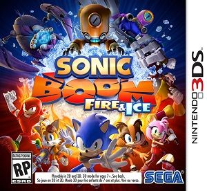Rom Sonic Boom Fire & Ice 3DS