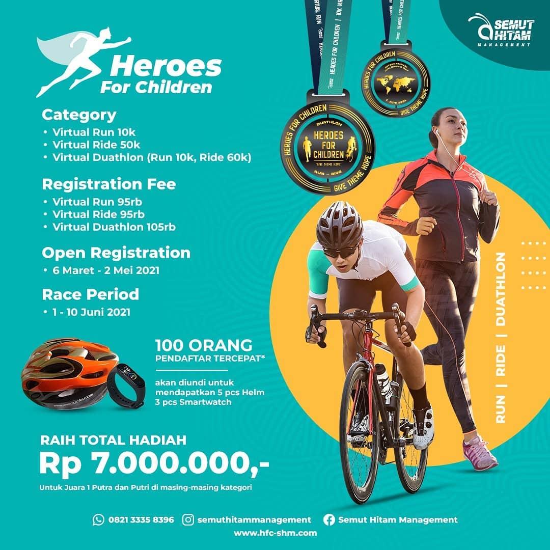 Heroes for Children • 2021