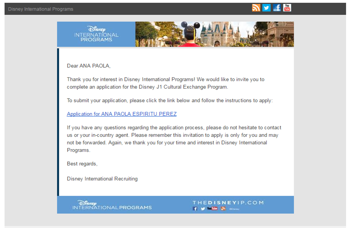 Ok So Then I Recieved A Mail Where There Was Link To Make The Application Online And Guides You This