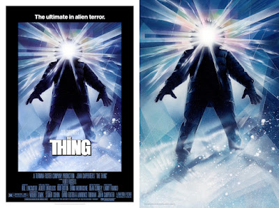 The Thing 3D Lenticular Movie Poster by Drew Struzan x Vice Press