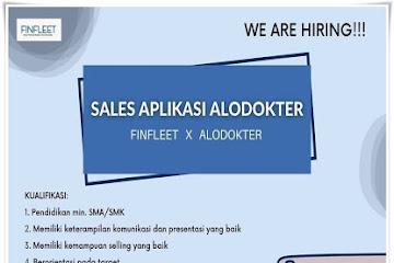 Lowongan Kerja Sales Aplikasi Alodokter