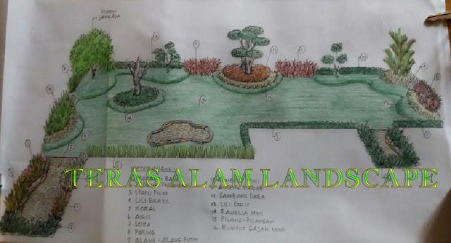 desain taman cawang