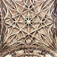 Sklepienie - Katedra św Cecylii w Albi