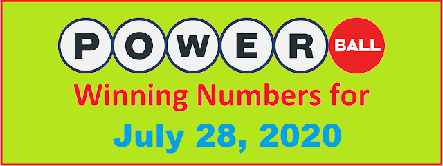 PowerBall Winning Numbers for Wednesday, July 28, 2021