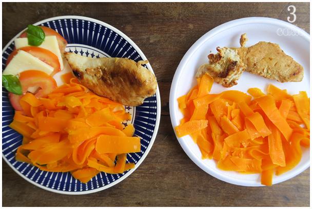 macarrão cenoura receita