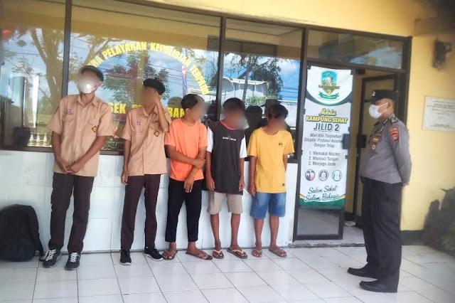 Polisi bubarkan pelajar yang hendak kelahi di Lombok Tengah