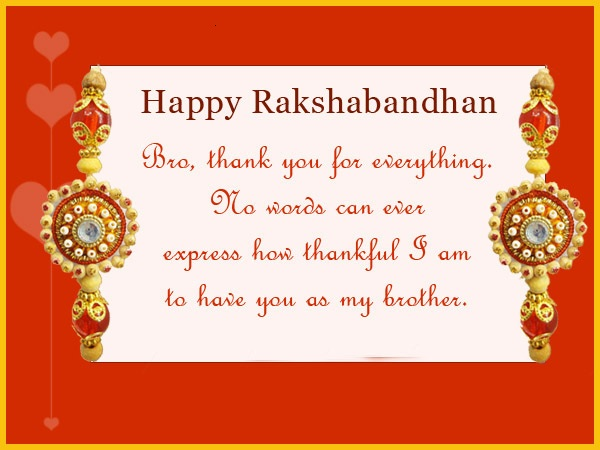 Raksha Bandhan Quotes Images 2019