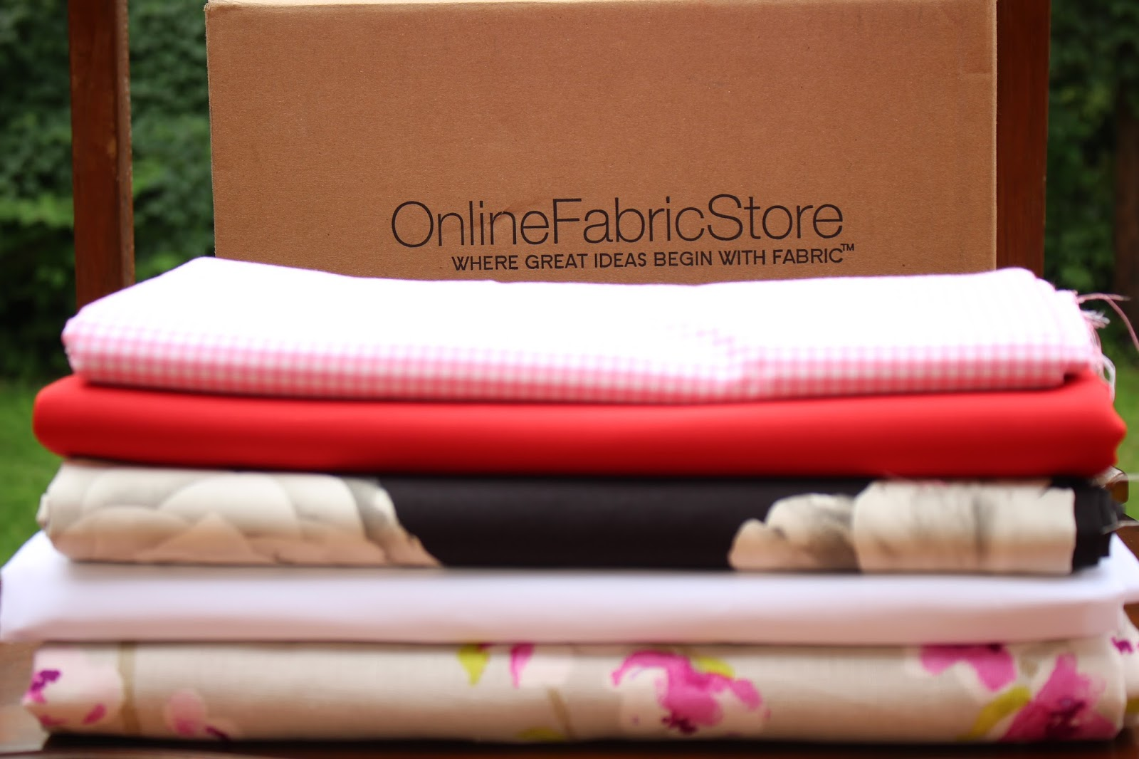 My Style Oasis, Fabric Haul. Online Fabric Store, OnlineFabricStore.net