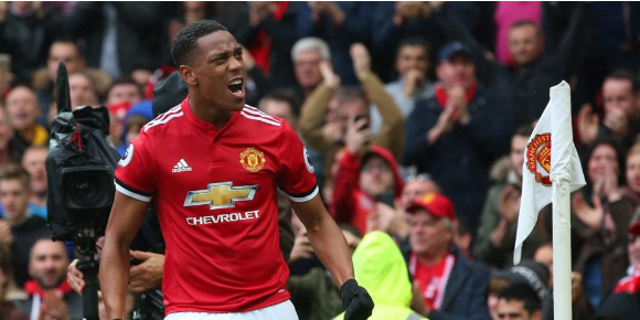 Despite The Wrong Position at MU, Martial Appearance Riveting