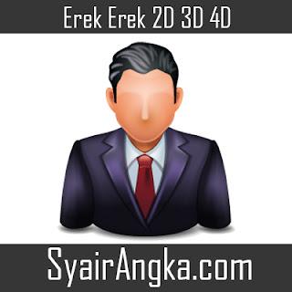 Erek Erek Menjadi Camat 2D 3D 4D
