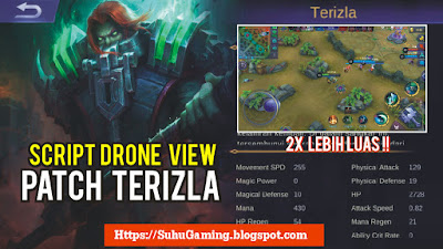 Download Script Drone View Patch Terbaru Note v1.3.84 Mobile Legends