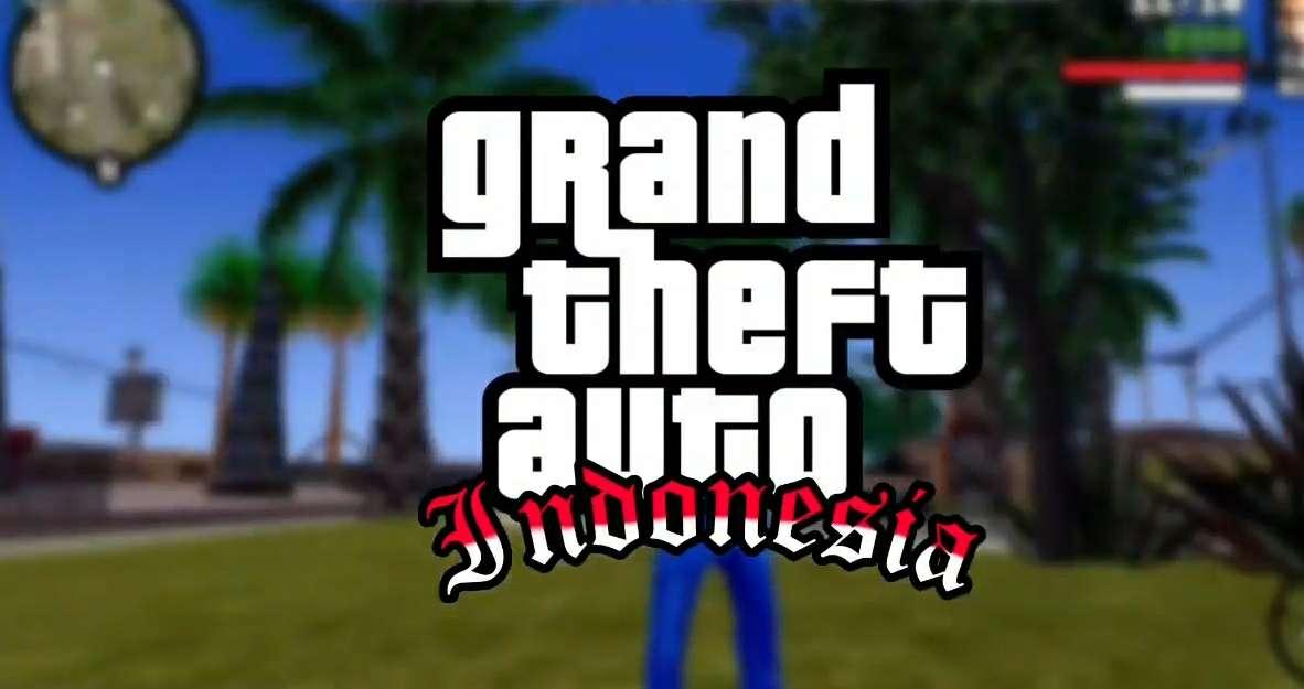 GTA San Andreas Lite Apk Nuansa Indonesia Support All OS GPU Size 200mb
