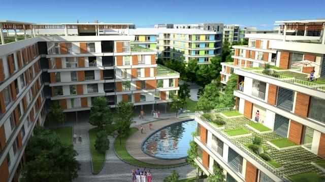 Dự án nhà ở xã hội CT3A CT3B CT3C CT4 khu đô thị Kim Chung Đông Anh