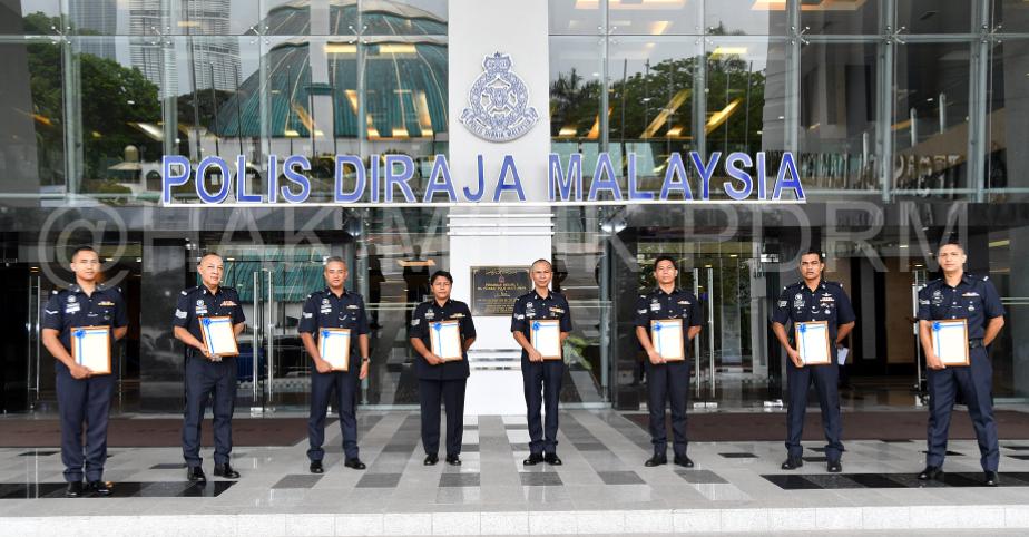 Polis tolak rasuah