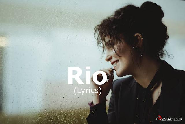 Giulia Luzi, Rio, testo canzone Rio, Lyrics