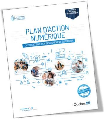 Plan d'action numérique en éducation et en enseignement supérieur