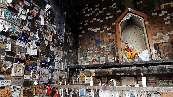 Condenan destrozos en el santuario de San Expedito, en el balneario de Reñaca