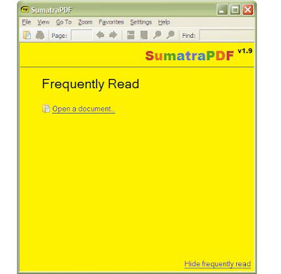 SumatraPDF-1.9 | Portable version