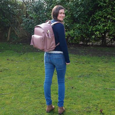 Skip Hop Greenwich Backpack - Dusky Rose