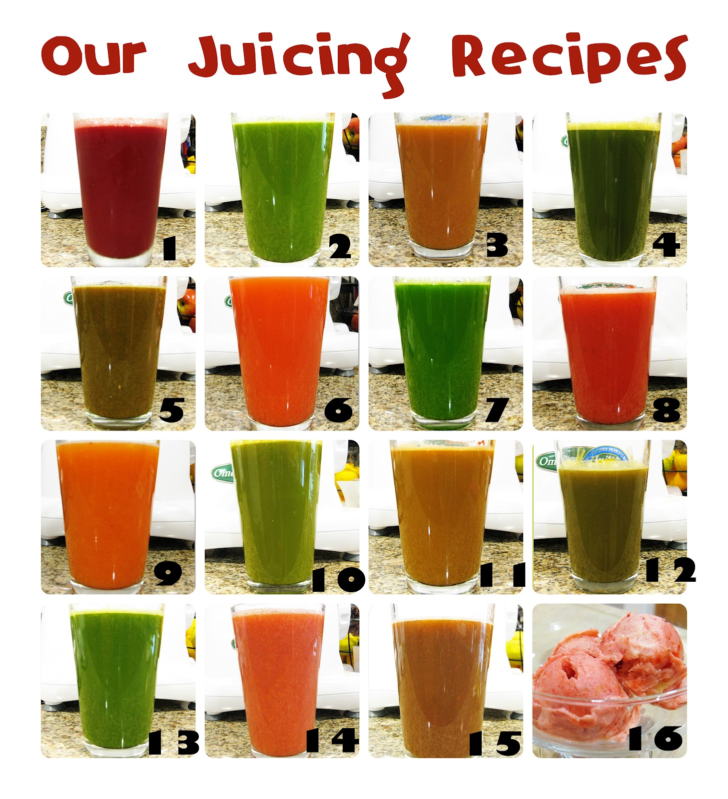 Cali Green Mama: Juice Fast Recipes
