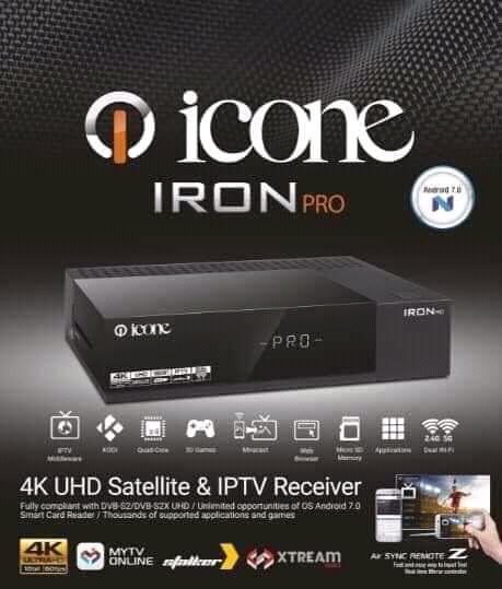 مواصفات الجهاز الجديد icone iron