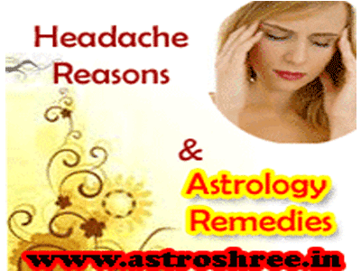 astro remedies of headache