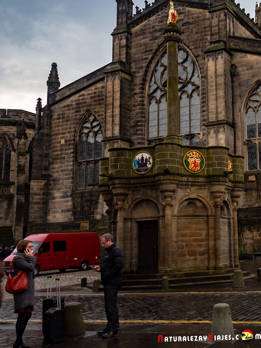 Market Cross en Edimburgo