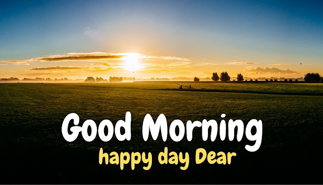 Good Morning happy day Dear Good Morning Sky with Sun Image