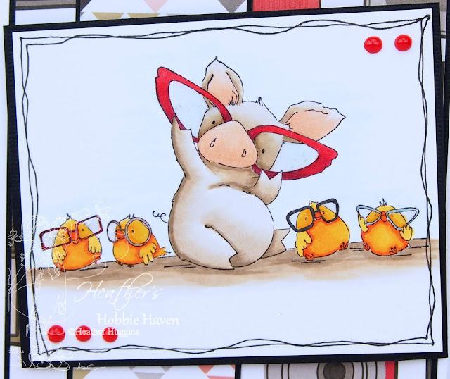 Heather's Hobbie Haven - Nice to See You Petunia Card Kit