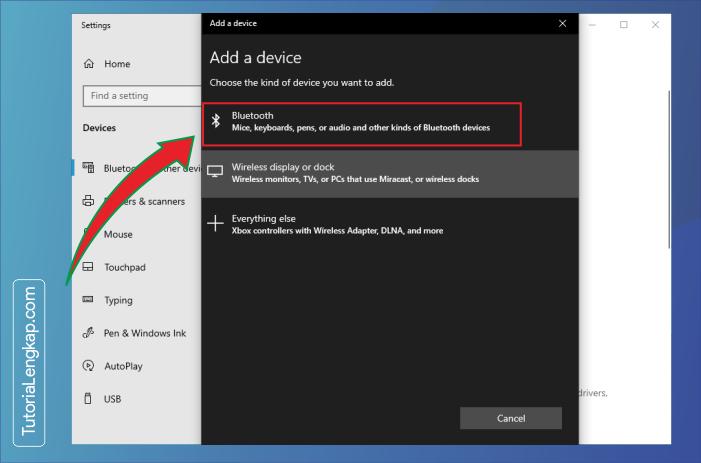 tutorialengkap 3 Cara Menghubungkan Smartphone Sebagai Perangkat Bluetooth Pada Windows 10