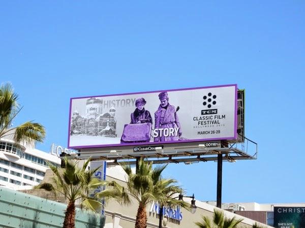 TCM Classic Film Festival Doctor Zhivago billboard