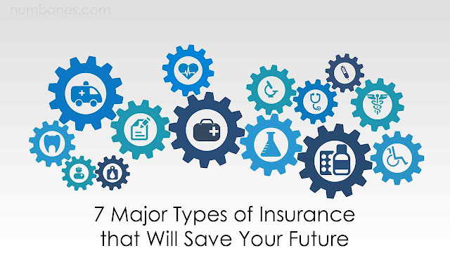 7 Major Types of Insurance that Will Save Your Future