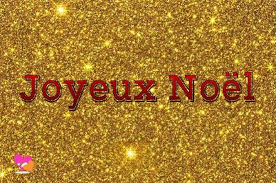 Joyeux Noel doré