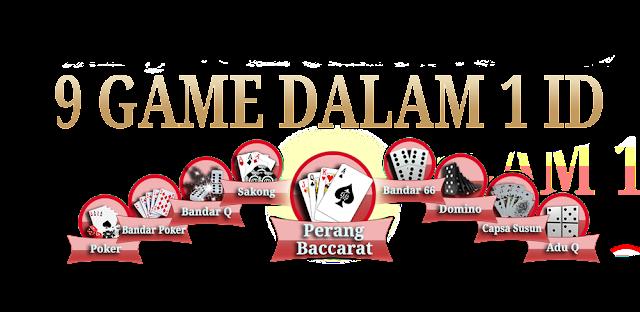 9 GAMES DALAM 1 ID