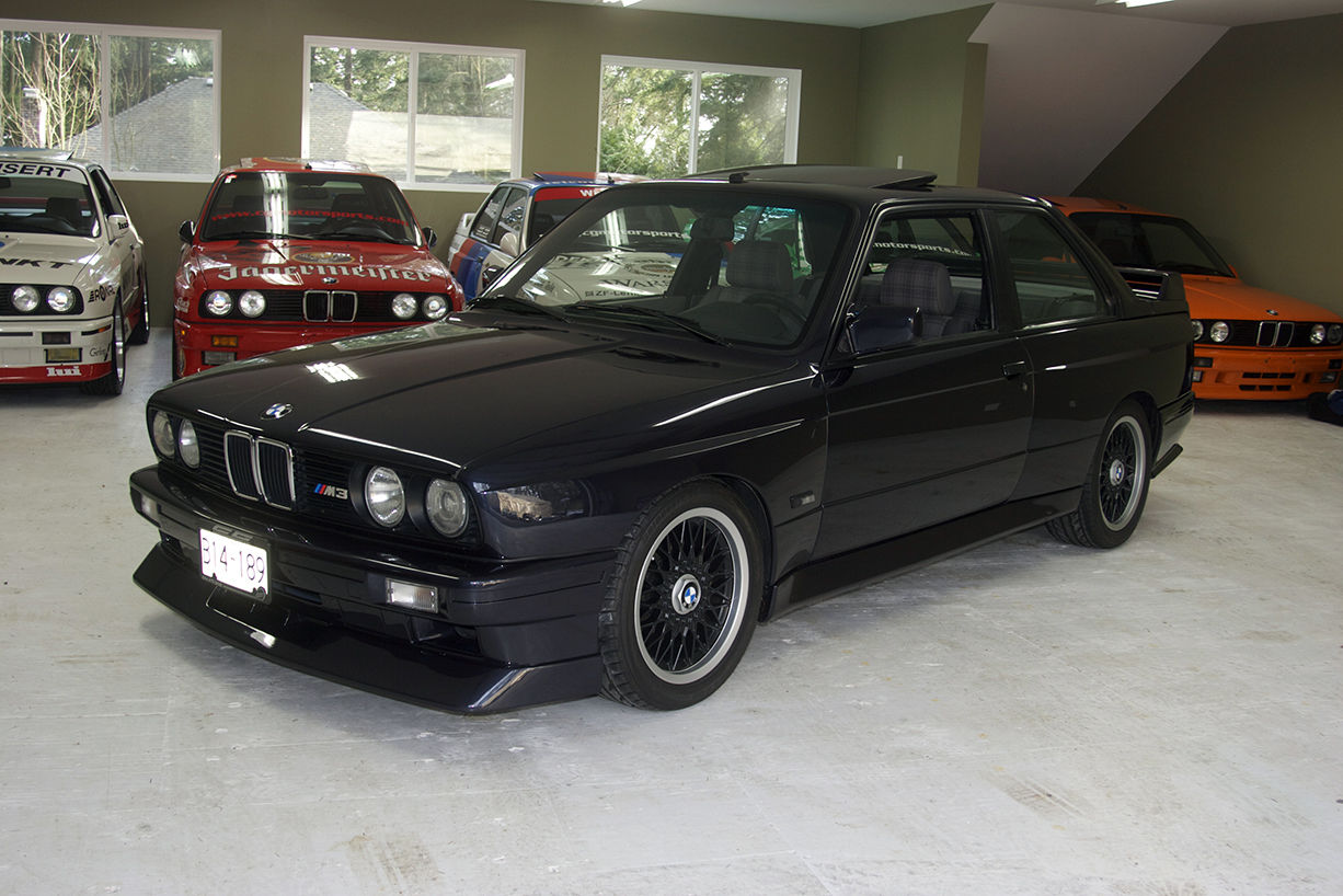 super rare 1988 bmw m3 evo ii e30 for sale in canada. Black Bedroom Furniture Sets. Home Design Ideas