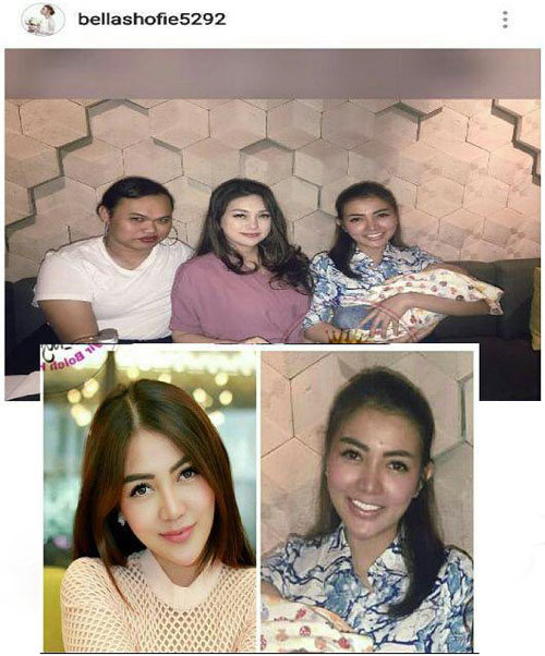 Foto Penampilan Asli Bella Shofie Tanpa Make Up Hebohkan Netizen