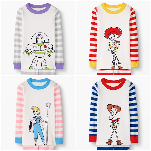 Hanna Andersson Toy Story pajamas