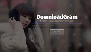 cara download video instagram menggunakan situs downloadgram
