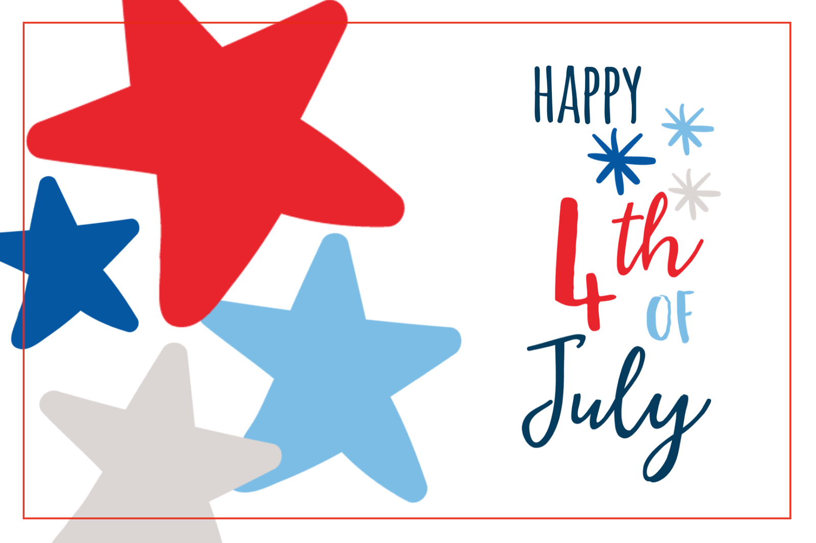 #july 4th #journaling card #freedom #free download #printable #stars #4th of july #free journaling card